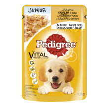 Kons. suņiem Pedigree junior vistas 100g