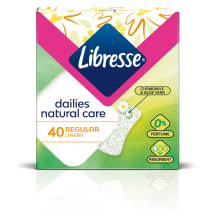 Ikd. ieliktn. Libresse natural normal 40gb
