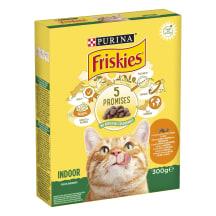 Kaķu barība Friskies mājas kaķiem 300g