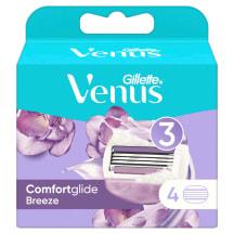 Skūšanās kasetes Gillette Venus Breeze, 4gb.