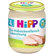 Ekol. vištienos ruošinys HIPP, 4 mėn., 125g