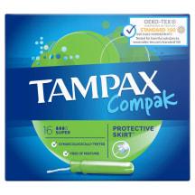 Tamponi Tampax Compak Super ar aplik. 16 gab