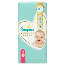 Autiņbiksītes Pampers Premium Care S4 52gb