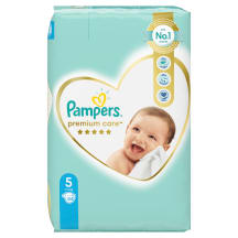 Autiņbiksītes Pampers Premium Care S5 44gb