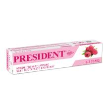 Zobu pasta President Baby 0-3gadi,30ml
