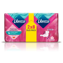Higienin.paketai LIBRESSE ULTRA LONG 16 vnt.