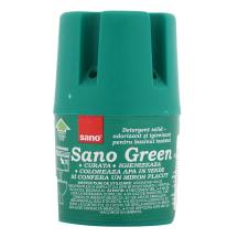 Tualetes bloks skaloj.kastei Sano Green 150g