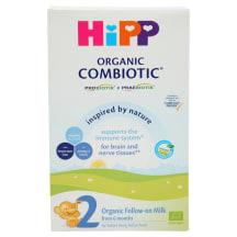 Ekol.pien.miš., HiPP 2 COMBIOTIC, 6 mėn.,300g
