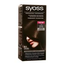 Matu krāsa Syoss color 3-1 tumši brūns