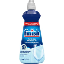 Skaloš. līdz. traukiem Finish Rinse Aid 400ml