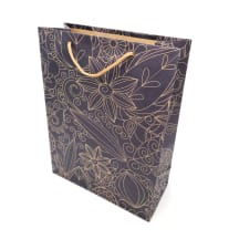 Mažas dovanų krepšelis KRAFT 19x15x6cm