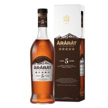 Brendijs Ararat 5* 40% 0,5l