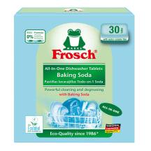 Indaplovių tabletės FROSCH SODA, 30vnt.