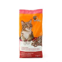 Saus. kačių ėdalas su jautiena PURRRFECT, 1kg