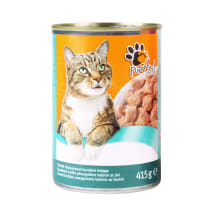Kons. ėdalas katėms su žuvimi PURRRFECT, 415g