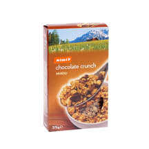 Musli Rimi grauzdēts ar šokolādi 375g