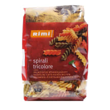 Makaroni Rimi Spirali Tricolori 500g