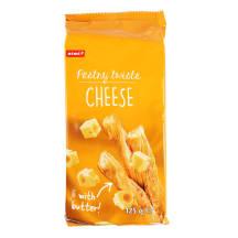 Sūrios lazdelės su sūriu RIMI, 125 g