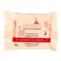 Mitrās salvetes Oreon normālai ādai 10gab.