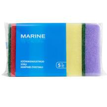 Sūkļi Marine 5 gab medijs 2,6x9,5x6,3cm
