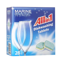 Tabletes Marine trauku mazg. mašīnai 28gab.
