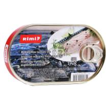 Makreles fil. Rimi eļļā 170g/119g