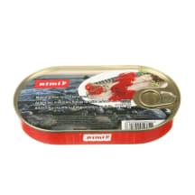 Atl. skumbrių filė pomidorų padaže, RIMI, 170