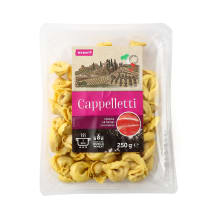 Pasta Capelletti ar šķiņķi Rimi 250g
