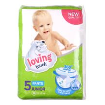Püksmähkmed Loving Touch Junior 38tk