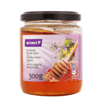 Įvairių augalų medus RIMI, 300g