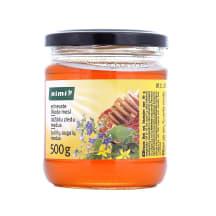 Įvairių augalų žiedų medus RIMI, 500g