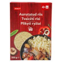 Ilgagrūdžiai plikyti ryžiai RIMI, 500g
