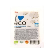 Ekologiškas fetos sūris ICA I LOVE ECO, 150g