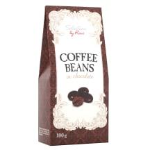 Kafijas pupiņas šokolādē Selection 100g