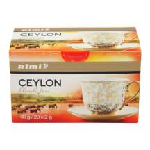 Juodoji Ceilono arbata RIMI, 20 vnt., 40g