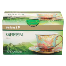 Tee roheline Green Rimi 20x2g
