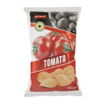 Pomidorų skonio bulvių traškučiai RIMI, 150g