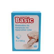 Ilgagrūdž.ryžiai RIMI BASIC, 4 x 100g, 400g
