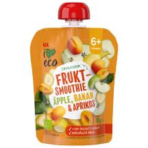 Püree õun-banaan-aprikoos I Love Eco 90g