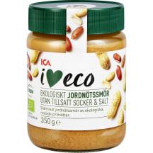 Maapähklikreem I Love Eco ilma soola,suh.350g