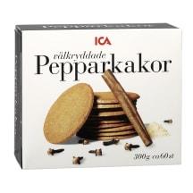 Imbieriniai sausainiai ICA, 300g