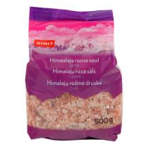 Rožinė rupi Himalajų druska RIMI, 500g