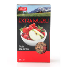 Musli Rimi Extra Fruits and Berries 375g