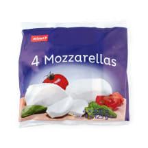 Sūris Rimi Mozzarella 4x125g