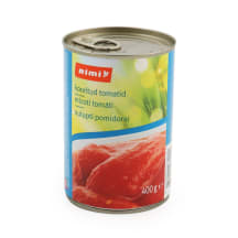 Nulupti pomidorai RIMI, 400g