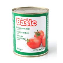 Tomatid kooritud Rimi Basic 800g