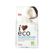 Purustatud kookospähkel I Love Eco 200g