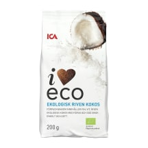 Ekologiškos kokoso drožlės I LOVE ECO, 200g