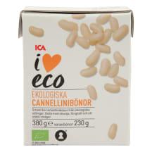 CANNELLINI pupelės I LOVE ECO, 380g/230g