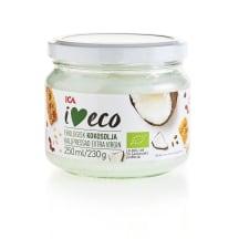Kokosriekstu eļļa I Love Eco aukstā sp. 250ml